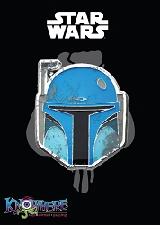 Star Wars Mandalorian Exclusive Pin - Animated Boba Fett Battle Damage (Celebration 2019)