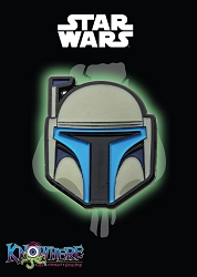 Star Wars Mandalorian Exclusive Pin - Jango Fett Glow-in-the-Dark (Celebration 2019)