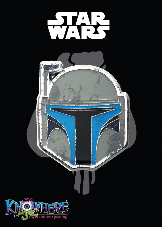 Star Wars Mandalorian Exclusive Pin - Jango Fett Battle Damage (Celebration 2019)