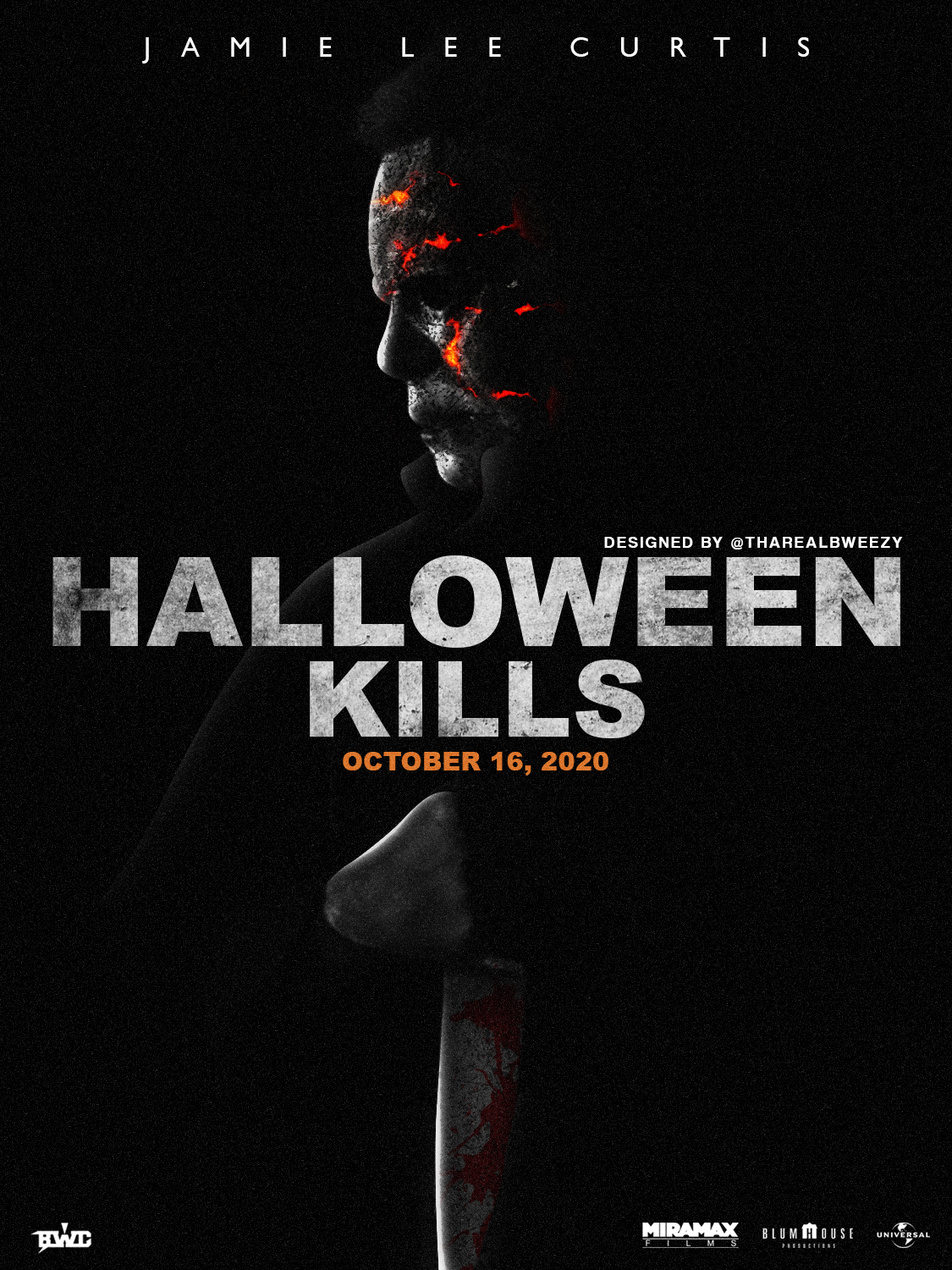 Pre-Order] Halloween Kills Poster (C) 11x17 Signed by Anthony Michael Hall