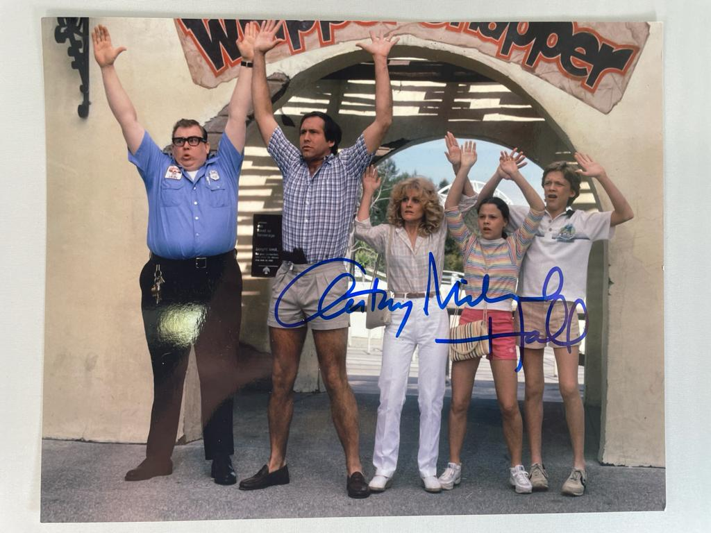 National Lampoon's Vacation Photo 8x10 Signed by Anthony Michael Hall