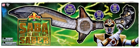 Power Rangers: Might Morphin Legacy - Saba the Talking Tiger Sword