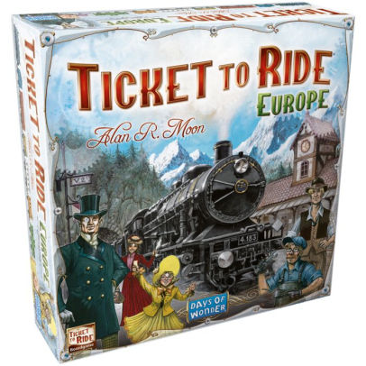 Ticket to Ride: Europe - Alan R. Moon