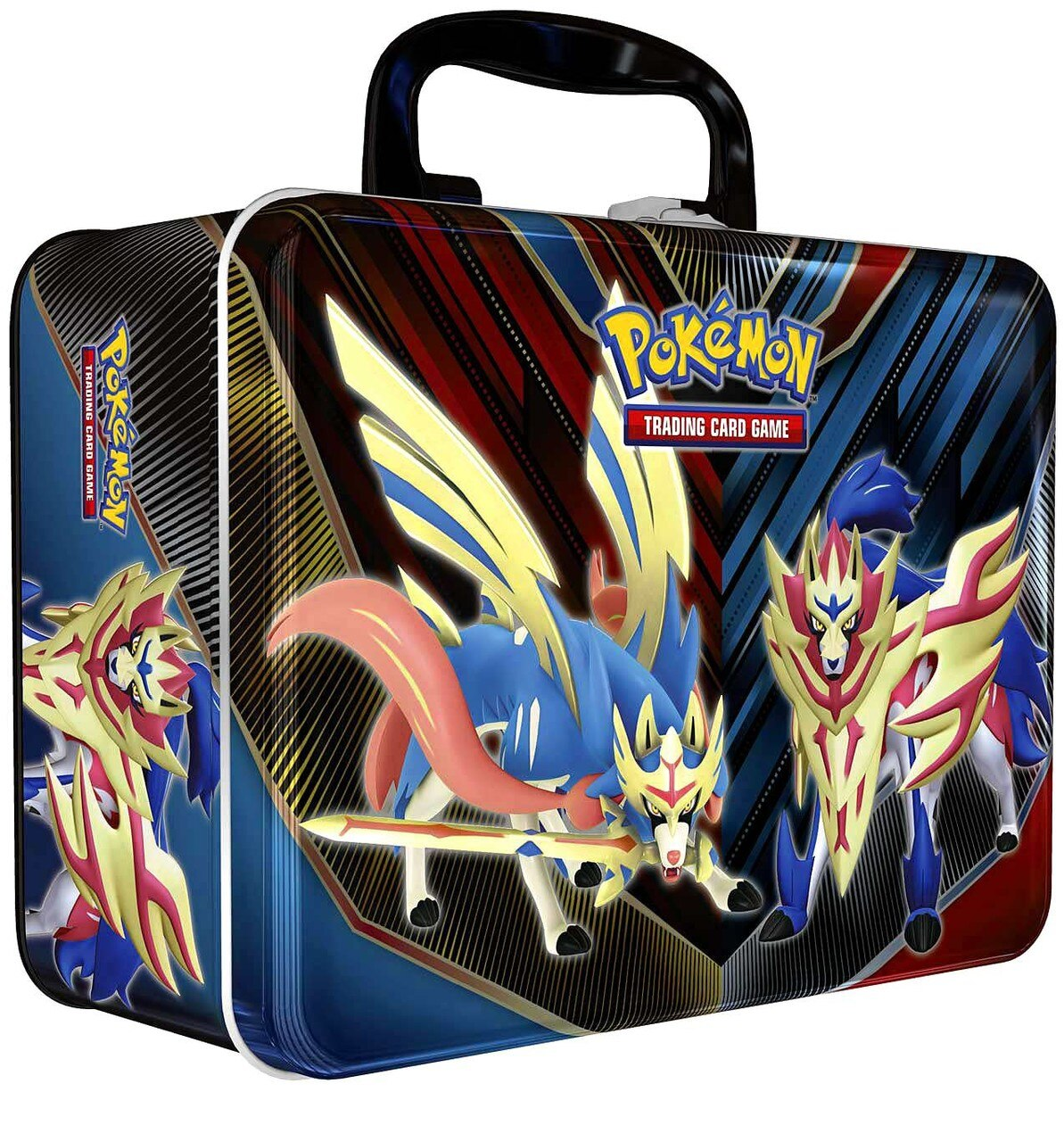 Pokemon Trading Card Game Spring Collectors Chest Tin