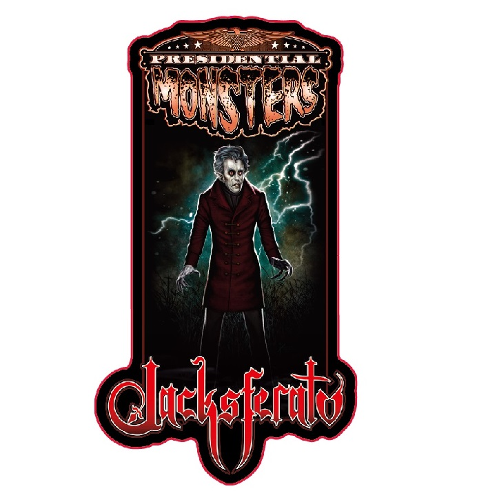 Presidential Monster Pin - Jacksferatu [2019 NYCC Exclusive]