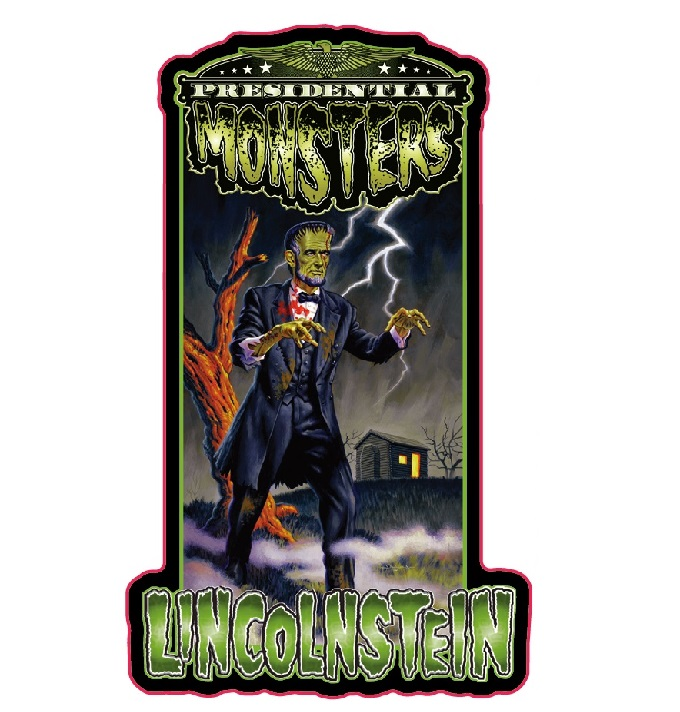 Presidential Monster Pin - Lincolnstein [2019 NYCC Exclusive]