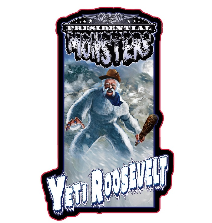 Presidential Monster Pin - Yeti Roosevelt [2019 NYCC Exclusive]