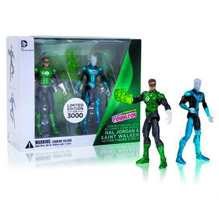 DC Collectibles: Hal Jordan & Saint Walker Action Figure 2-Pack (NYCC Exclusive)