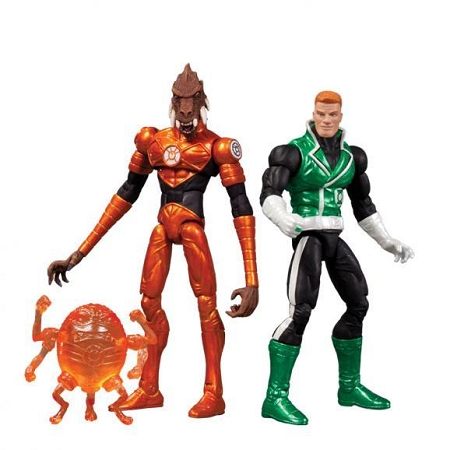 DC Collectibles: DC Comics Super-Heroes: Green Lantern Guy Gardner & Larfleeze Action Figure 2-Pack (Wondercon Exclusive)