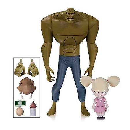 DC Collectibles: Batman: The Animated Series - Killer Croc w/ Baby Doll Action Figure