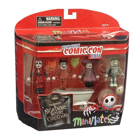 Minimates: Nightmare Before Christmas Deluxe Box Set (NYCC 2015 Exclusive)