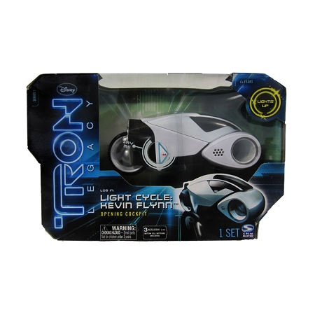 Disney: Tron Legacy - Light Cycle: Kevin Flynn Figure