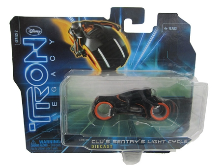 Disney: Tron Legacy - Series 2 Clu's Sentry's Light Cycle Die Cast