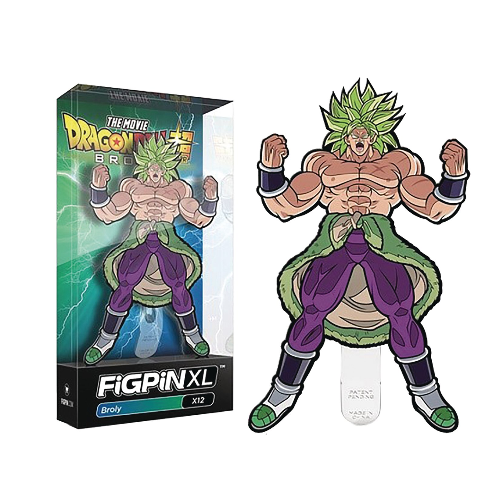 The Movie Dragon Ball Super Broly - Broly FiGPin XL #X12