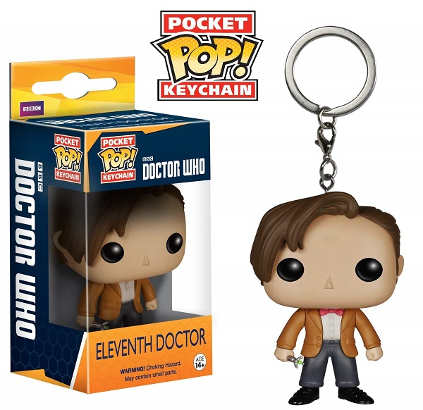 POP! Keychain: Doctor Who - Eleventh Doctor Keychain