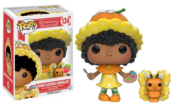 POP! Animation: Strawberry Shortcake - Orange Blossom & Marmalade Vinyl Figure #134