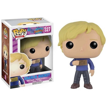 POP! Movies: Willy Wonka - Charlie Bucket Vinyl Figure #327
