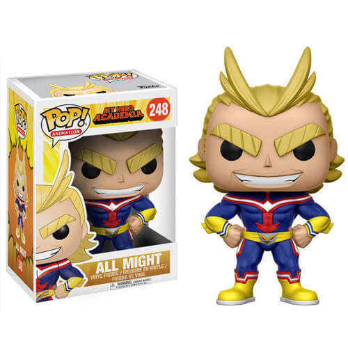 POP! Animation: My Hero Academia - All Might Vinyl Figure #248