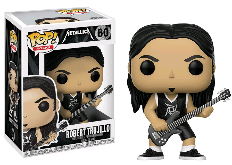 POP! Rocks: Metallica - Robert Trujillo Vinyl Figure #60