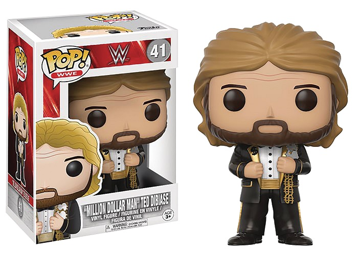 POP! WWE: 'Million Dollar Man' Ted Dibiase Vinyl Figure #41