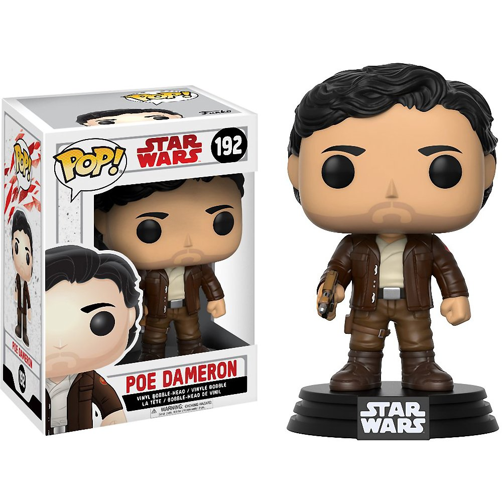 POP! Star Wars: The Last Jedi - Poe Dameron Vinyl Figure #192
