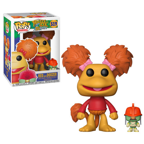 POP! Television: Fraggle Rock - Red w/ Doozer Vinyl Figure #519