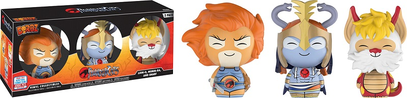 Dorbz Television: Thundercats - Lion-O, Mumm-Ra and Snarf BX Vinyl Figure 3-Pack (NYCC 2017 Exclusive)