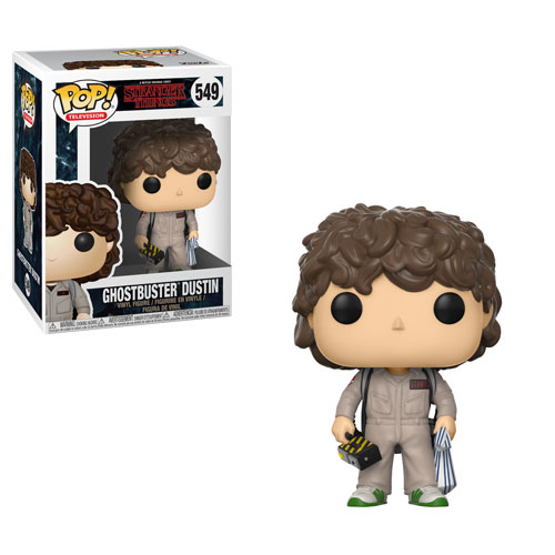 POP! Television: Stranger Things - Ghostbuster Dustin Vinyl Figure #549