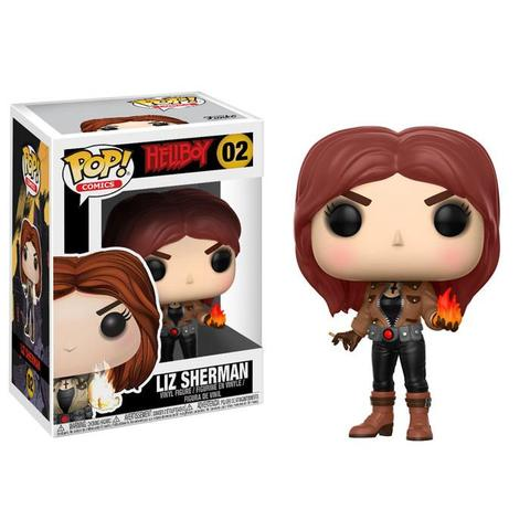 POP! Comics: Hellboy - Liz Sherman Vinyl Figure #2