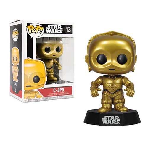 POP! Star Wars: C-3PO Vinyl Bobblehead Figure #13