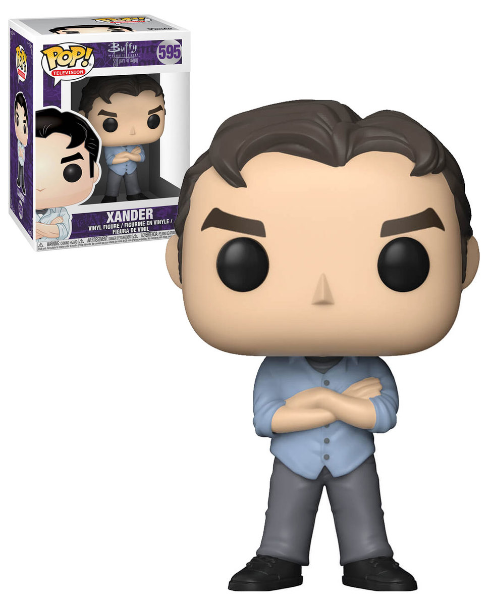POP! Television: Buffy The Vampire Slayer (20 Years Of Slaying) - Xander Vinyl Figure #595