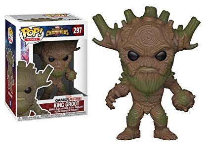 POP! Marvel: Marvel Gamerverse - King Groot Vinyl Bobblehead Figure #297