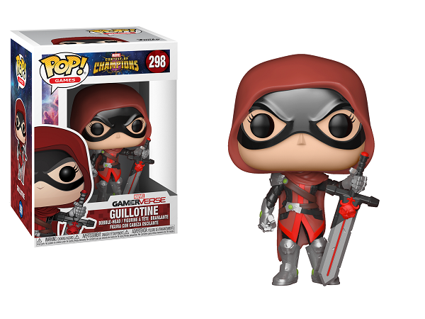 POP! Games: Marvel Contest of Champions - Guillotine Vinyl Bobblehead Figure #298