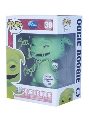 POP! Signature Series: The Nightmare Before Christmas - Oogie Boogie Vinyl Figure #39 [Signed by Ken Page]