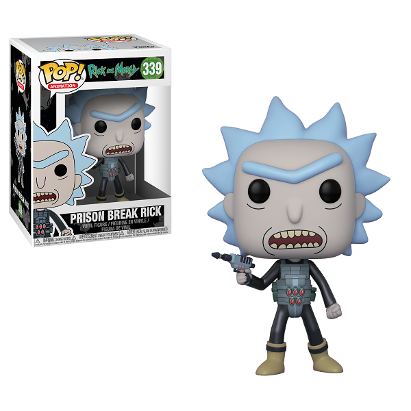 POP! Animation: Rick & Morty - Prison Break Rick Vinyl Figure #339