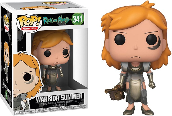 POP! Animation: Rick & Morty - Warrior Summer Vinyl Figure #341