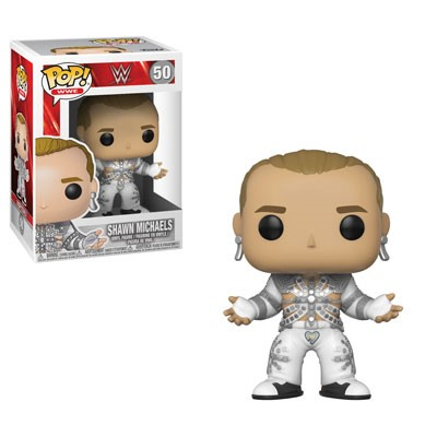 POP! WWE: Shawn Michaels (WrestleMania 12) Vinyl Figure #50