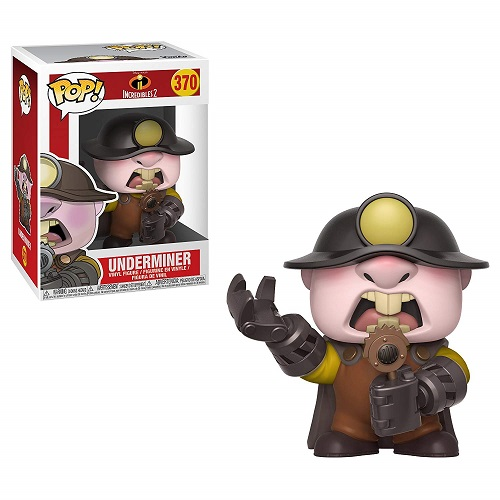 POP! Disney: Incredibles 2 - Underminer Vinyl Figure #370
