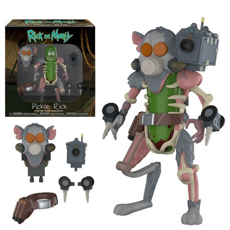 Funko Action Figures: Rick & Morty - Pickle Rick Action Figure [Ships in December]