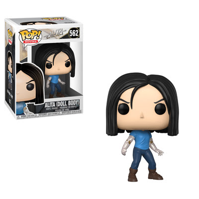 POP! Movies: Alita: Battle Angel - Alita (Doll Body) Vinyl Figure #562