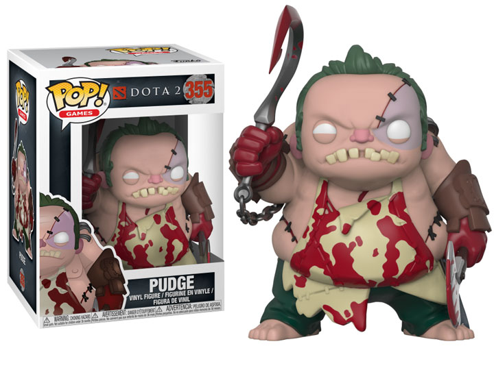 POP! Games: DoTA 2 - Pudge Vinyl Figure #355