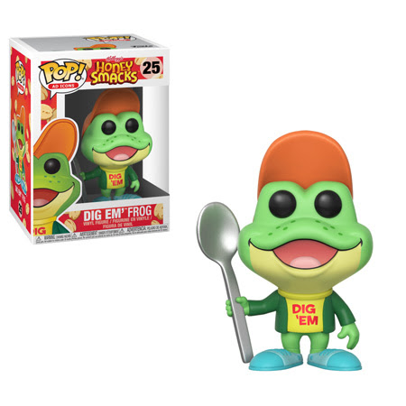 POP! Ad Icons: Honey Smacks - Dig Em' Frog Vinyl Figure #25
