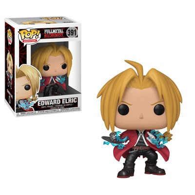 POP! Animation: Fullmetal Alchemist - Edward Elric Vinyl Figure #391