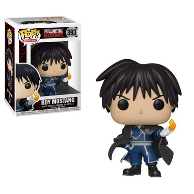 POP! Animation: Fullmetal Alchemist - Roy Mustang Vinyl Figure #393