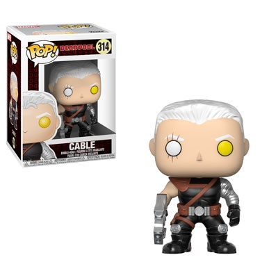 POP! Marvel: Deadpool 2 - Cable Vinyl Bobblehead Figure #314