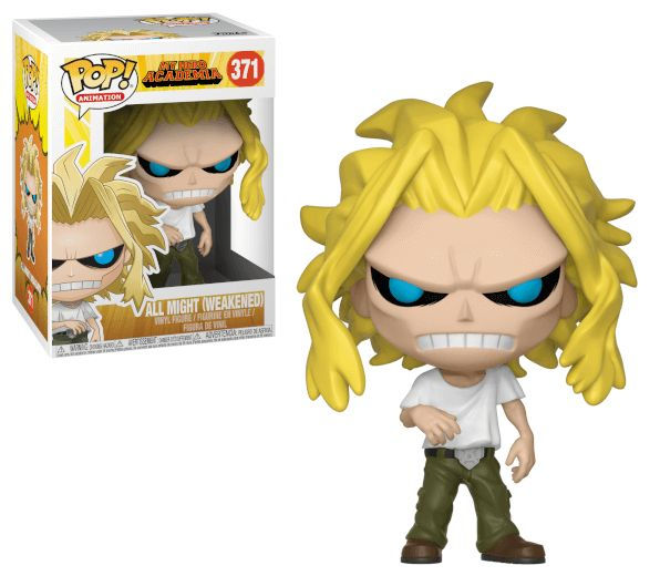 POP! Animation: My Hero Academia - All Might (Weakened) Vinyl Figure #371