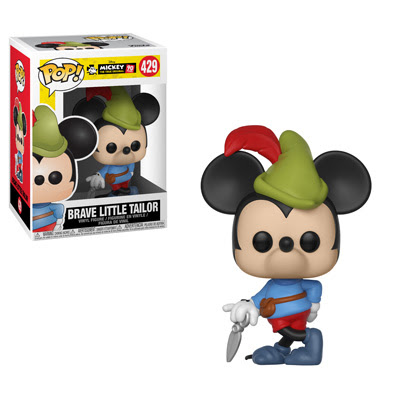 POP! Disney: Mickey's 90th Anniversary - Brave Little Tailor Vinyl Figure #429