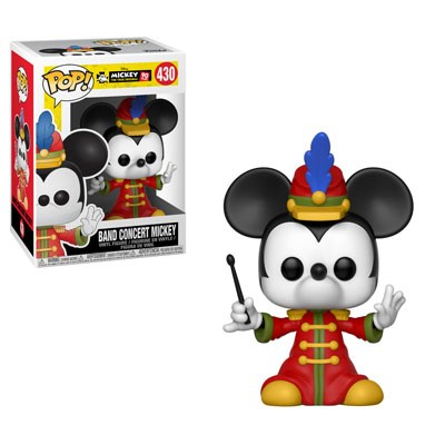 [PRE-SALE] POP! Disney: Mickey's 90th Anniversary - Band Concert Mickey Vinyl Figure #430 [Ships in December]