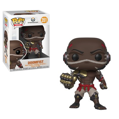 POP! Games: Overwatch - Doomfist Vinyl Figure #351