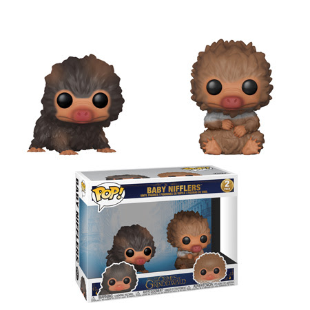 [PRE-SALE] POP! Movies: Fantastic Beasts 2 - Baby Nifflers Vinyl Figure 2-Pack [Ships in November]